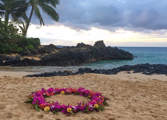 Toes in the Sand | Maui Wedding Planner