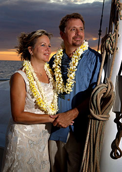Maui Boat Wedding